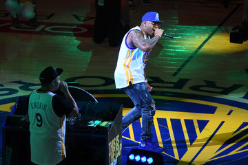 Flo Rida 2017 NBA Finals - Game Two