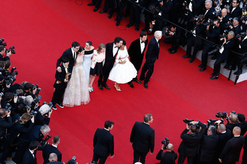 Florence Foresti Laurent Lafitte 'Chronic' Premiere - The 68th Annual Cannes Film Festival