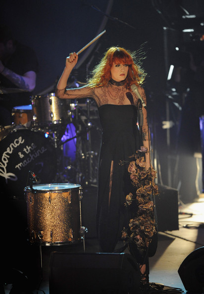 Florence Welch - The Barclaycard Mercury Prize - Show