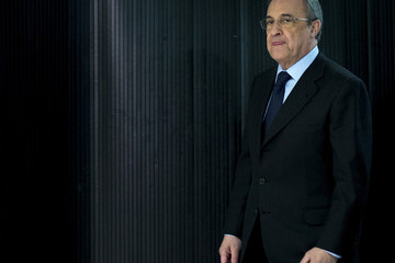 Florentino Perez Real Madrid CF Press Conference
