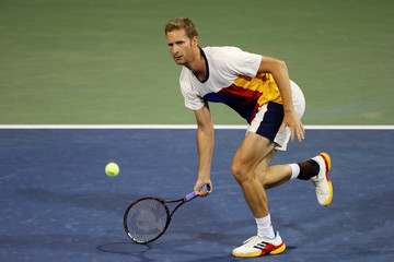 Florian Mayer 2017 US Open Tennis Championships - Day 3