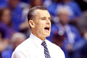 Head coach Billy Donovan of the Florida Gators looks on from the bench in the second half against the LSU Tigers during the Quarterfinals of the SEC basketball tournament at Bridgestone Arena on March 15, 2013 in Nashville, Tennessee.