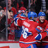 Tomas Plekanec P.K. Subban Photos - Alex Galchenyuk #27 of the Montreal Canadiens celebrates his second period goal with teammates during the NHL game at the Bell Centre on March 28, 2015 in Montreal, Quebec, Canada. - Florida Panthers v Montreal Canadiens