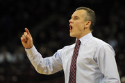 Head Coach Billy Donovan of the Florida Gators directs his team against the South Carolina Gamecocks at Colonial Life Arena on March 4, 2014 in Columbia, South Carolina. Florida defeated South Carolina 72-46.