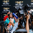 Floyd Mayweather Floyd Mayweather v Logan Paul - Media Availability