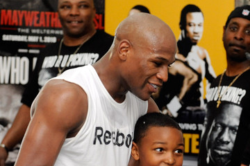 Koraun Mayweather Floyd Mayweather Jr. Workout Session