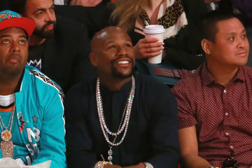 Floyd Mayweather Celebrities Attend the 2018 State Farm All-Star Saturday Night