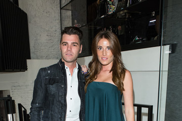 Fonsi Nieto Dsquared2 Opening Cocktail in New Madrid Store
