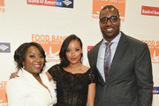 (L-R) Margarette Purvis, Selita Ebanks and Chris Canty attend the Food Bank For New York City Can Do Awards Dinner Gala at Cipriani Wall Street on April 21, 2015 in New York City.