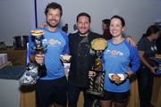 Award Winners at America's Greatest Sandwich Showdown presented by Goldbelly hosted by Adam Richman and Joe Ariel during the New York City Wine and Food Festival at Highline Stages on October 13, 2019 in New York City.