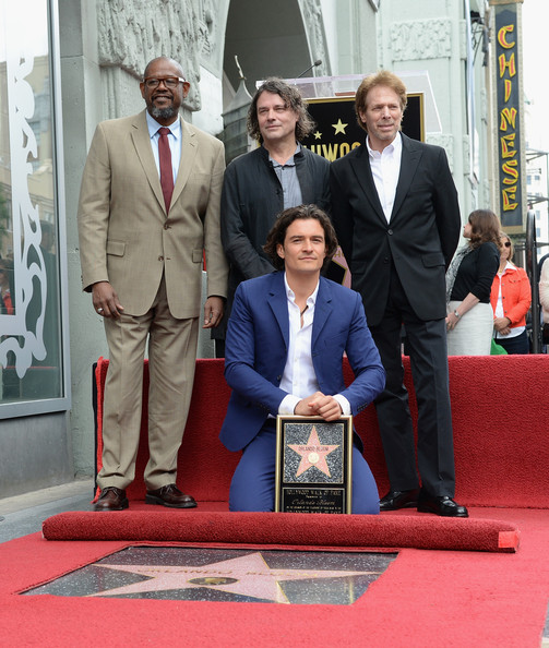 Orlando Bloom Honored on the Walk of Fame — Part 2