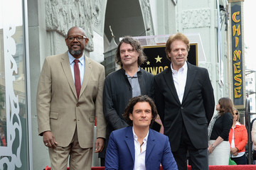Forest Whitaker Orlando Bloom Honored on the Walk of Fame — Part 2