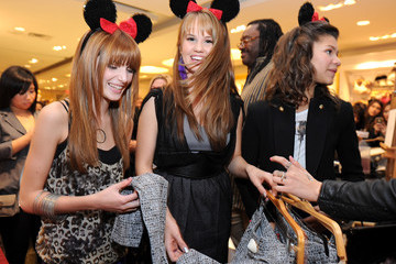 Zendaya Coleman Forever 21 VIP Event With Minnie Mouse And Guests