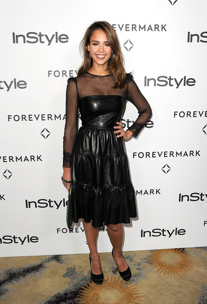 Jessica+Alba in Forevermark And InStyle's