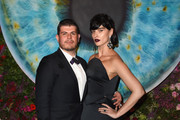 Eli Mizrahi (L) and Crystal Renn attend the Foundation Fighting Blindness World Gala at Cipriani 42nd Street on April 12, 2016 in New York City.