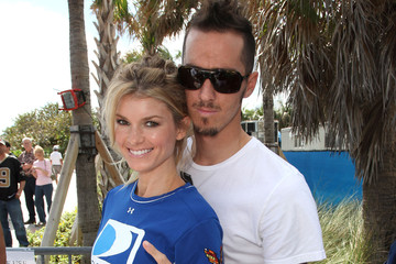Marisa Miller Griffin Guess Fourth Annual DIRECTV Celebrity Beach Bowl - Red Carpet