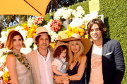 (L-R) Host Delfina Blaquier, Rodger Berman, Skyler Morrison Berman, Rachel Zoe and host Nacho Figueras attend The Fourth-Annual Veuve Clicquot Polo Classic, Los Angeles at Will Rogers State Historic Park on October 5, 2013 in Pacific Palisades, California.