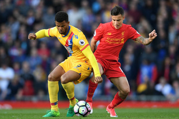 Fraizer Campbell Liverpool v Crystal Palace - Premier League