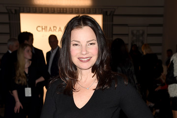 Fran Drescher Chiara Boni La Petite Robe - Front Row - February 2017 - New York Fashion Week: The Shows