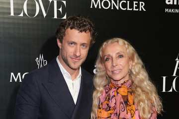 Franca Sozzani Remo Ruffini, Moncler Chairman And Kevin Robert Frost, amFAR CEO Host Private Viewing And Dinner For Art For Love: 32 Photographers Interpret The Iconic Moncler Maya Jacket