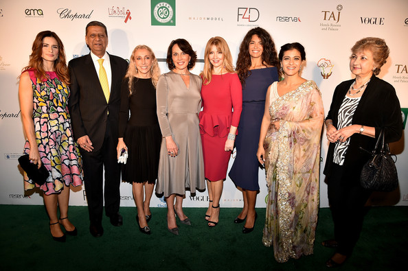 Fashion 4 Development Luncheon [event,premiere,fashion,dress,red carpet,carpet,fashion design,formal wear,award,tourism,livia firth,franca sozzani,kajol,evie evangelou,sylvia bongo ondimba,f4d,the pierre hotel,new york city,fashion 4 development luncheon,official first ladies luncheon]
