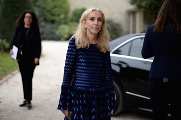 Franca Sozzani Christian Dior : Street Style - Paris Fashion Week Womenswear Spring/Summer 2017