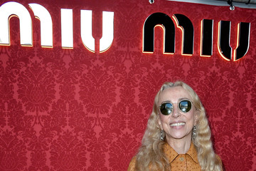 Franca Sozzani Arrivals at the Miu Miu Show