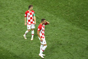 Luka Modric Marko Pjaca Photos Photo