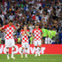 Luka Modric Mario Mandzukic Photos - Luka Modric of Croatia looks on dejected during the 2018 FIFA World Cup Final between France and Croatia at Luzhniki Stadium on July 15, 2018 in Moscow, Russia. - France v Croatia - 2018 FIFA World Cup Russia Final