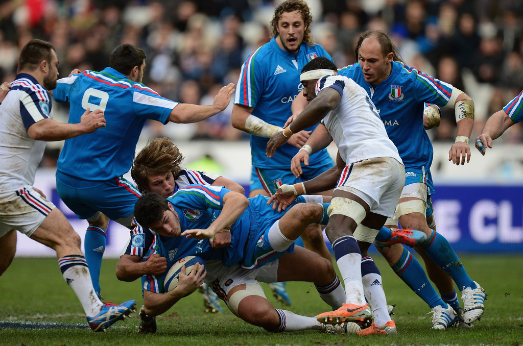 dimitri szarzewski in france v italy rbs six nations 1 of 2 zimbio. Black Bedroom Furniture Sets. Home Design Ideas