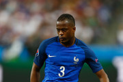 Patrice Evra of France in action during the UEFA Euro 2016 Group A match between France and Romania at Stade de France on June 10, 2016 in Paris, France.