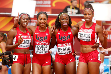 Francena McCorory 15th IAAF World Athletics Championships Beijing 2015 - Day Eight