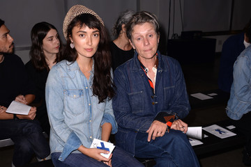 Frances McDormand A Detacher - Front Row - September 2017 - New York Fashion Week