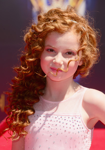 Arrivals at the Creative Arts Emmy Awards  [hair,ringlet,hairstyle,lip,lady,beauty,chin,blond,red hair,brown hair,arrivals,francesca capaldi,creative arts emmy awards,california,los angeles,nokia theatre l.a. live]