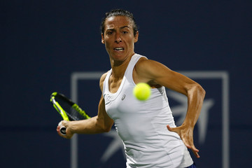 Francesca Schiavone Bank of the West Classic - Day 2