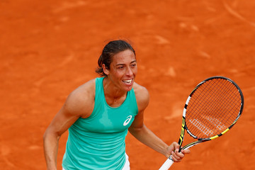 Francesca Schiavone 2015 French Open - Day Five