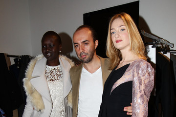 Alec Wek Francesco Scognamiglio: Front Row - Milan Fashion Week Womenswear Autumn/Winter 2012/2013