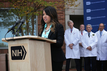 Francis Collins Nina Pham Released from NIH Virus Free