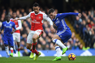 Francis Coquelin Chelsea v Arsenal - Premier League