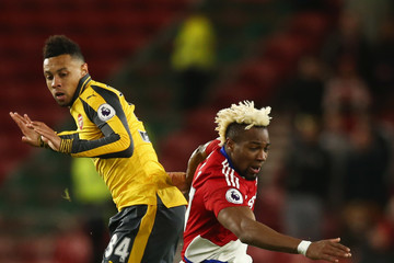 Francis Coquelin Middlesbrough v Arsenal - Premier League