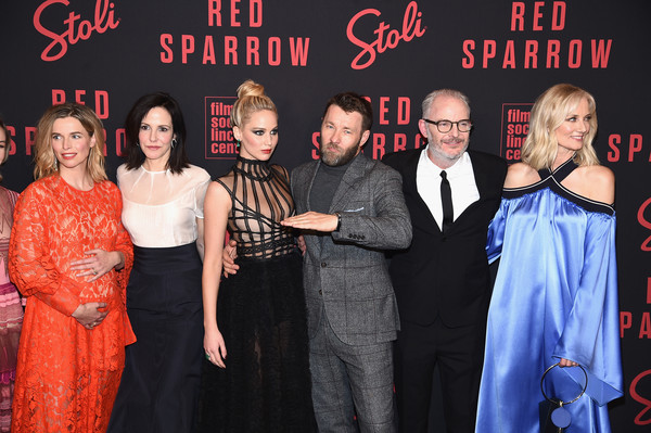 'Red Sparrow' New York Premiere [premiere,event,fashion,performance,carpet,flooring,francis lawrence,thekla reuten,jennifer lawrence,joel edgerton,mary louise parker,joely richardson,red sparrow,l-r,new york,premiere]