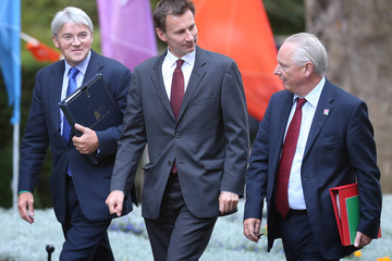 Francis Maude The Prime Minister Holds His First Cabinet Meeting Since His Major Reshuffle