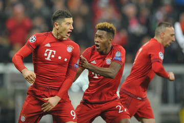 Franck Ribery David Alaba FC Bayern Muenchen v Juventus - UEFA Champions League Round of 16: Second Leg