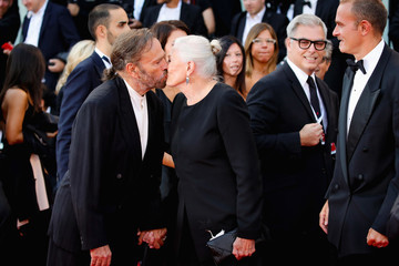 Franco Nero 'First Man' Premiere, Opening Ceremony And Lifetime Achievement Award To Vanessa Redgrave Red Carpet Arrivals - 75th Venice Film Festival