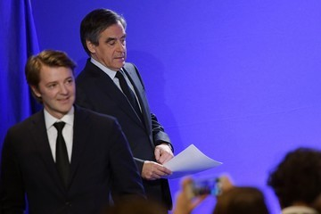 Francois Baroin French Candidate Francois Fillon Confirms He Remains A Candidate For The French Presidential Elections