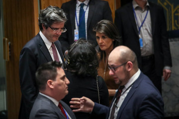 Francois Delattre UN Security Council Holds Emergency Meeting After Syrian Chemical Weapons Attack