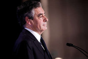 Francois Fillon French Presidential Candidate Francois Fillon Hosts Rally Party in Lille