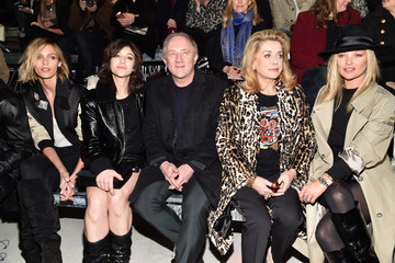 Francois-Henri Pinault Saint Laurent : Front Row  - Paris Fashion Week Womenswear Fall/Winter 2017/2018
