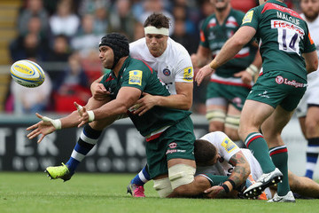 Francois Louw Leicester Tigers v Bath Rugby - Aviva Premiership