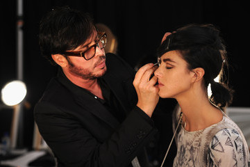 Francois Nars Marc Jacobs - Backstage - Spring 2013 Mercedes-Benz Fashion Week